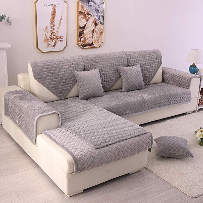 Top 7 Best Sectional Couch Covers in 2020 | Super Comfort ...