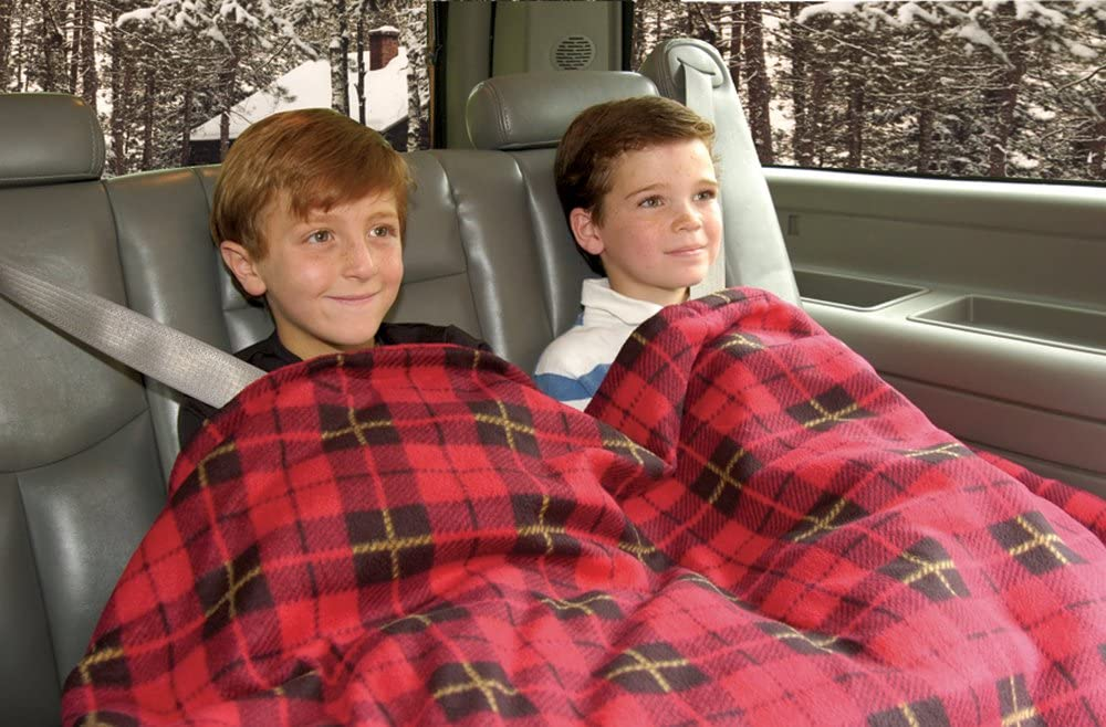 Car Cozy Heated Travel Blanket