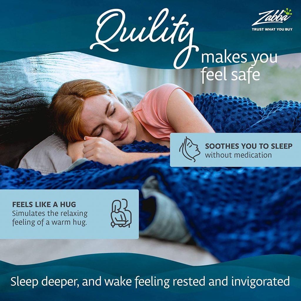Quility Premium Cotton Adult Weighted Blanket