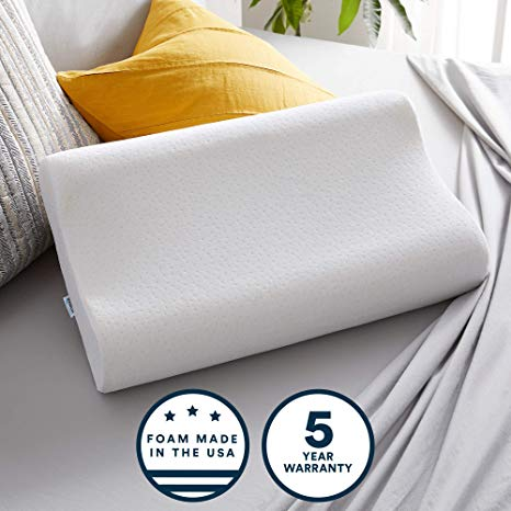 Sleep Innovations Contour Memory Foam Pillow