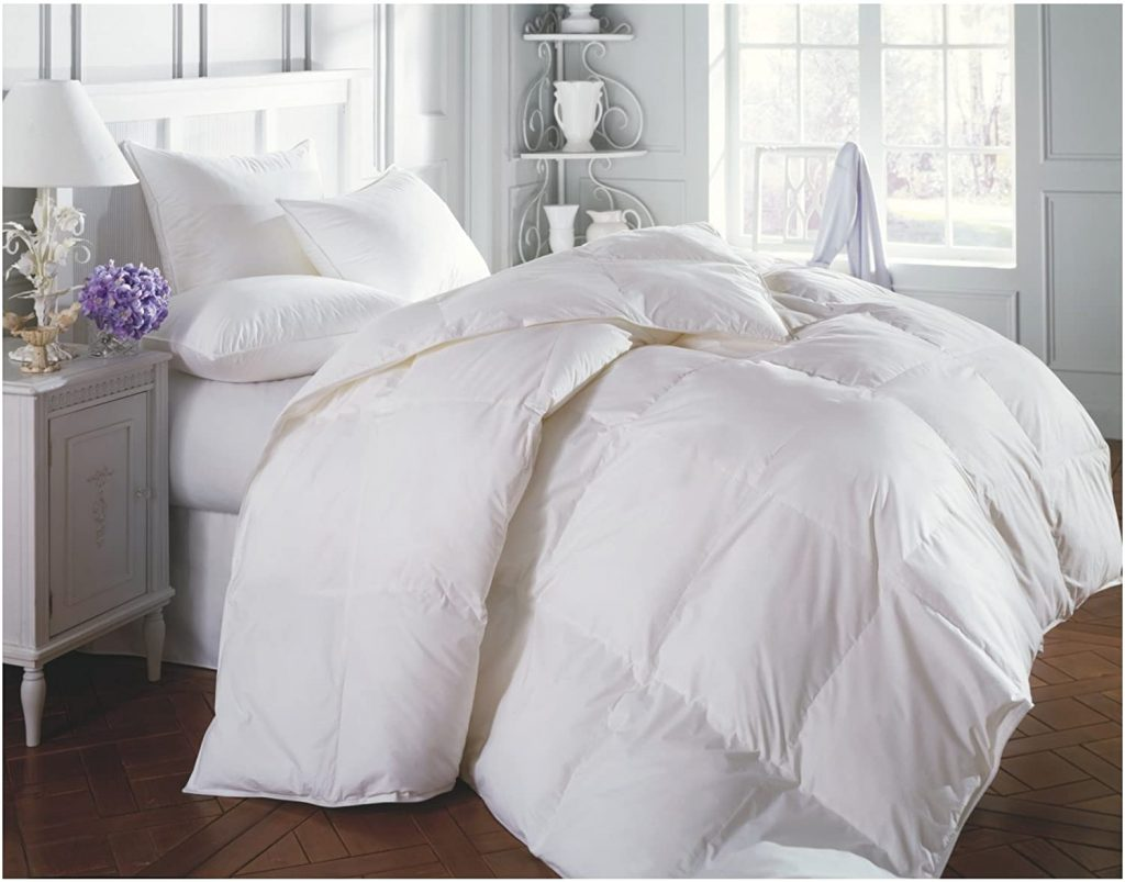 Superior Solid White Down Alternative Comforter, Duvet Insert