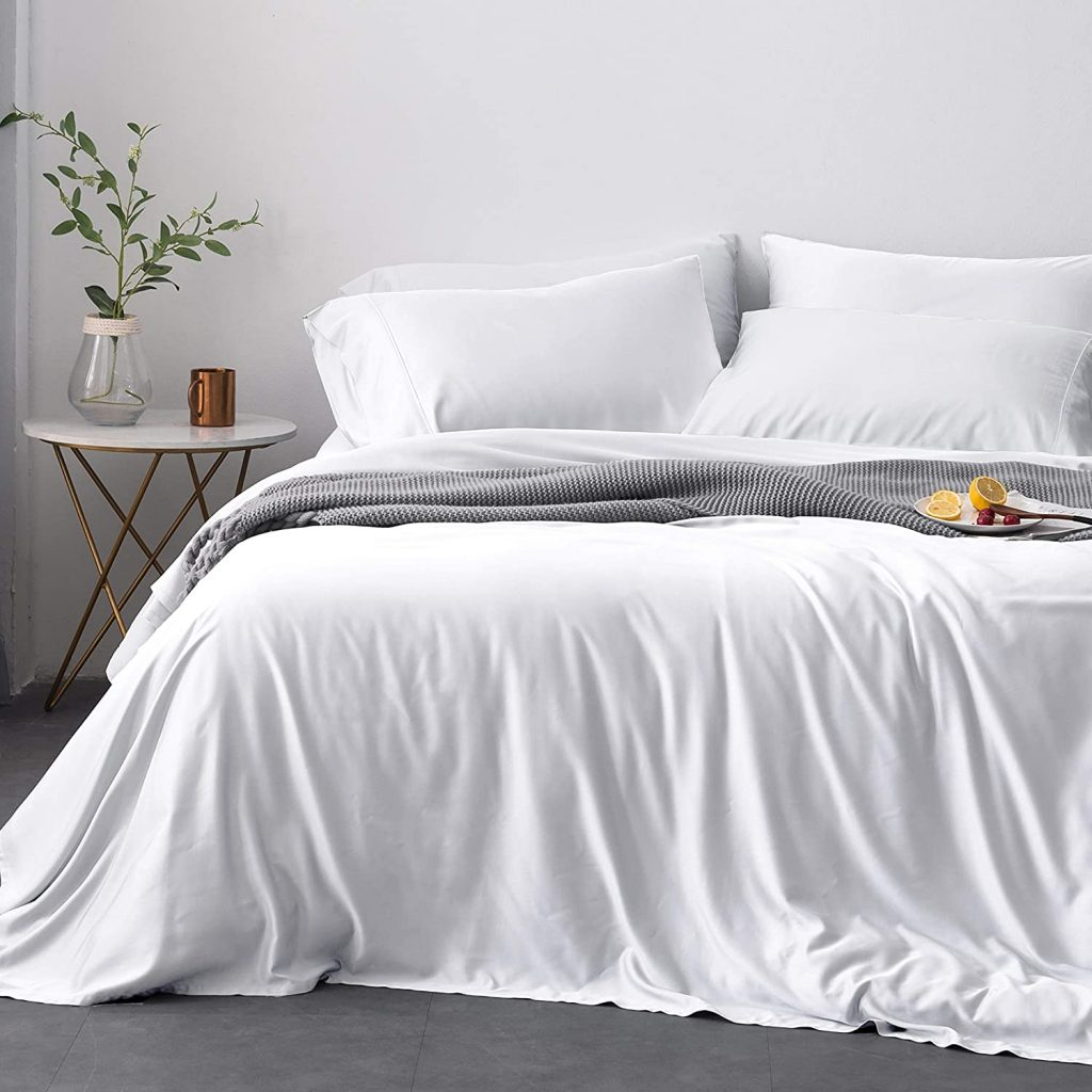 Oasis Fine Linens Island Bamboo Collection (King, Cirrus)