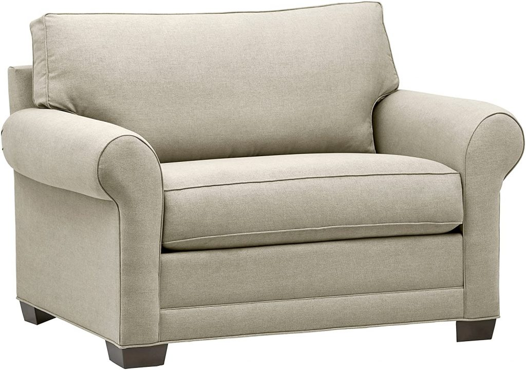 Stone & Beam Kristin Chair-and-a-Half Upholstered Sleeper Sofa