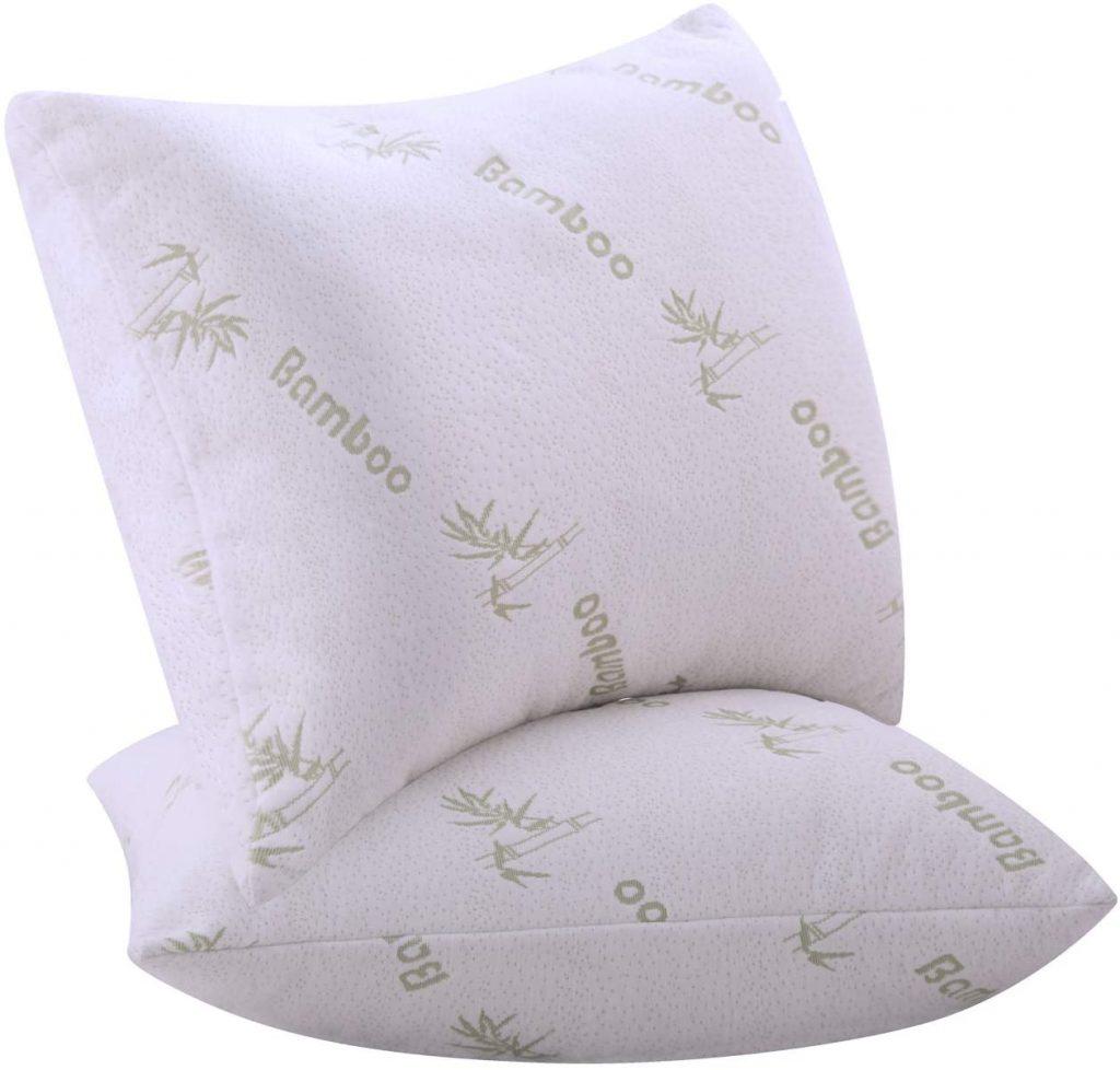 2 Pack Bamboo Pillows Standard Queen