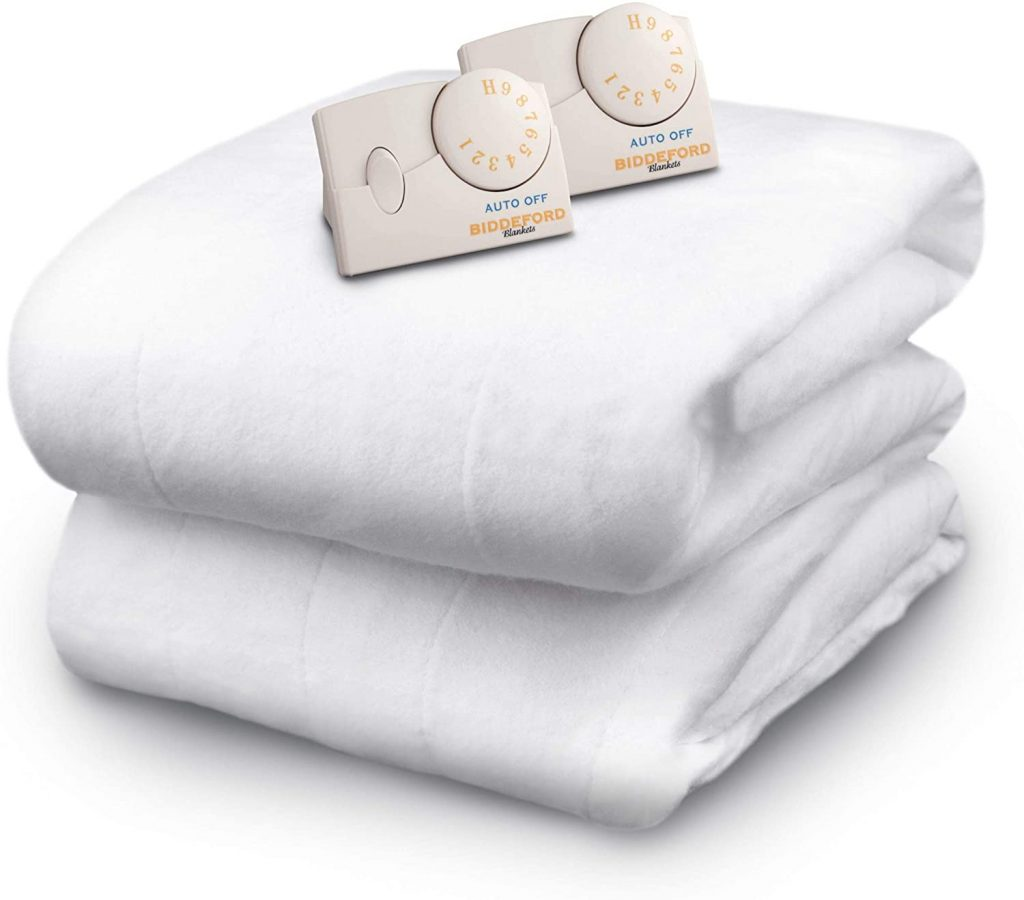 Bidderford Polyester Heated Mattress Pad