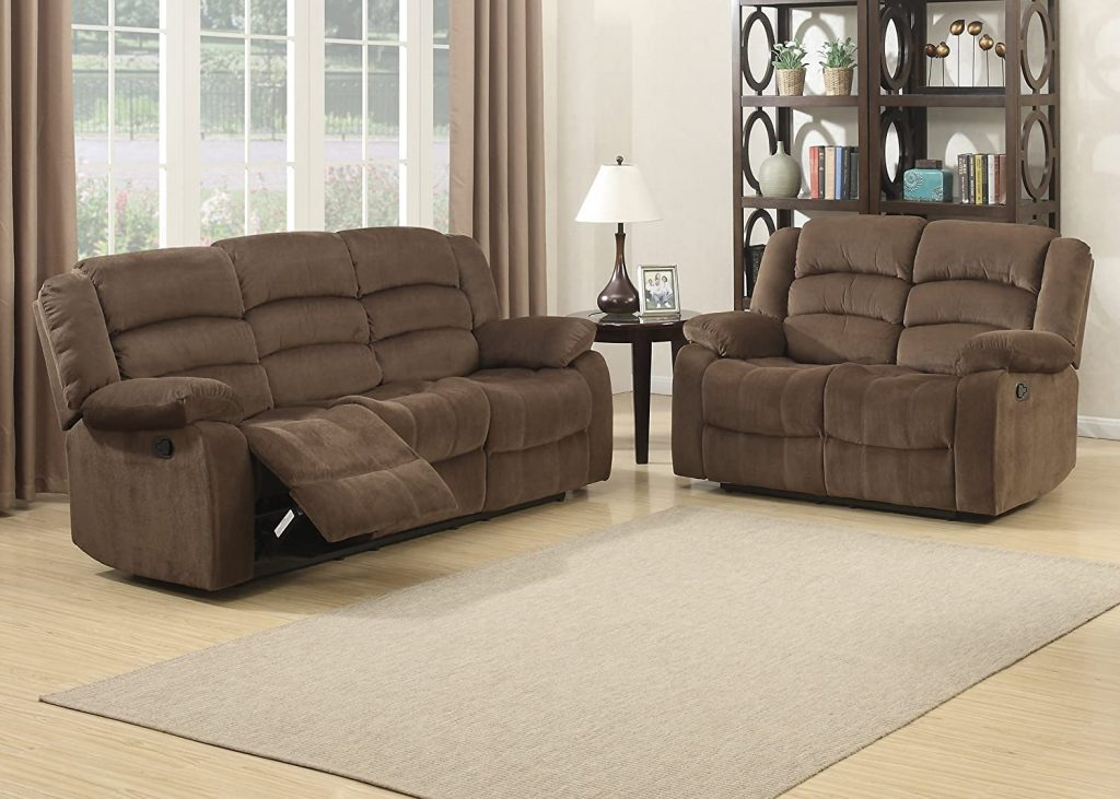 Christies Home Living 2 Piece Bill Contemporary Reclining Room Set