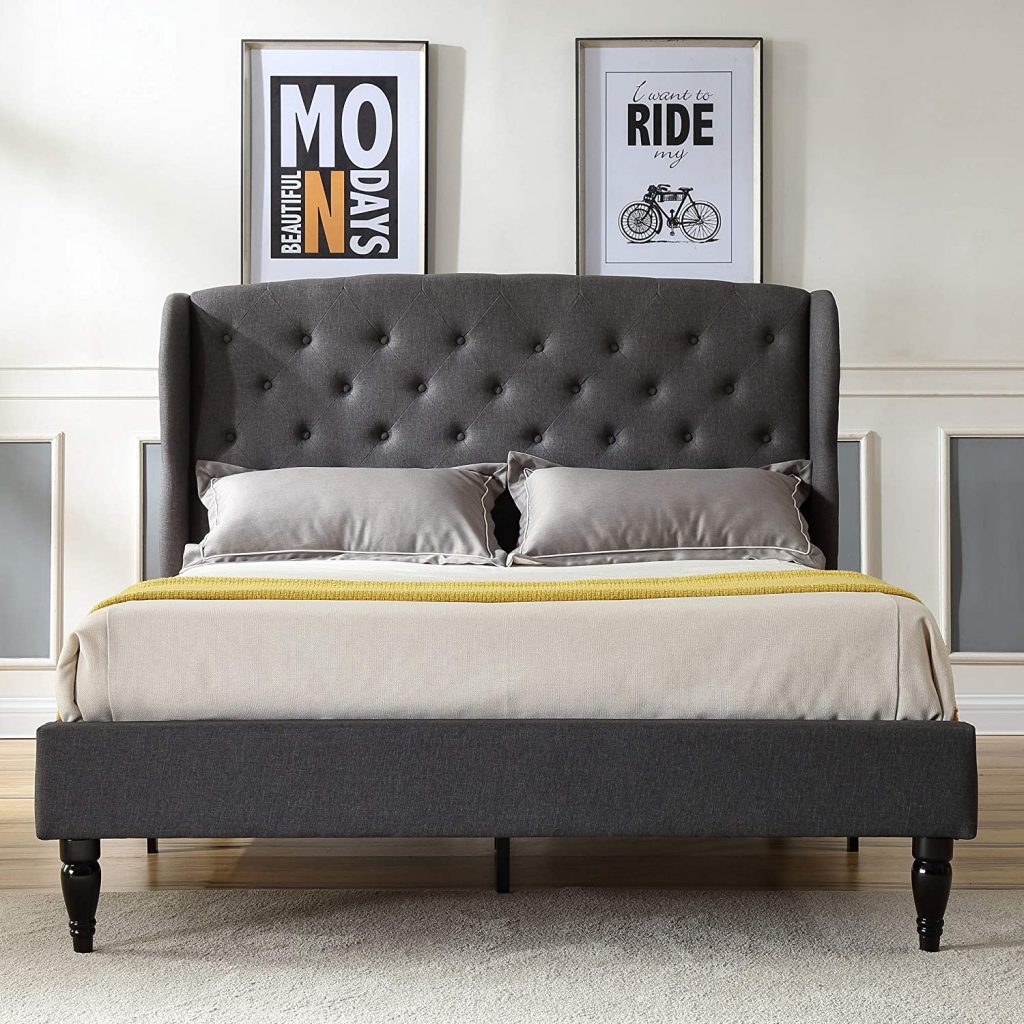 Classic Brands Coventry Upholstered Platform Bed
