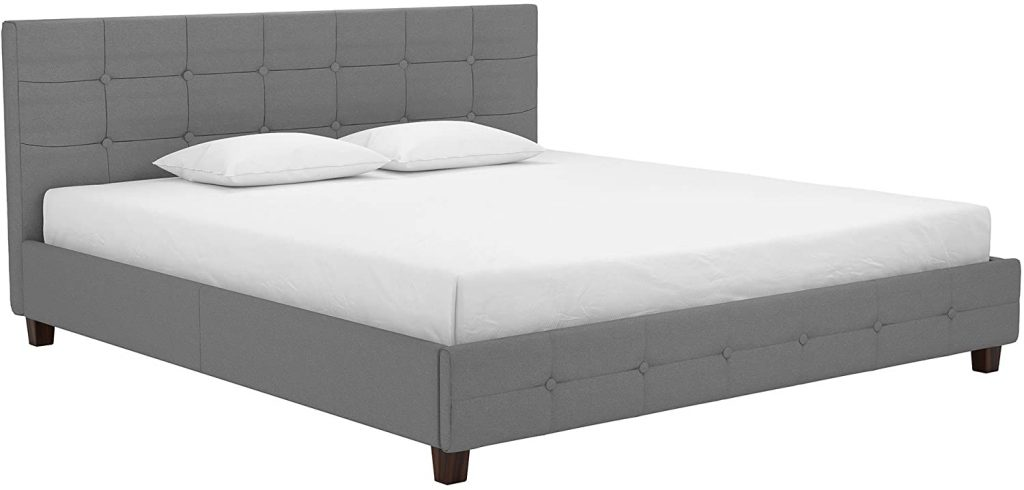 DHP Rose Upholstered Bed with Storage