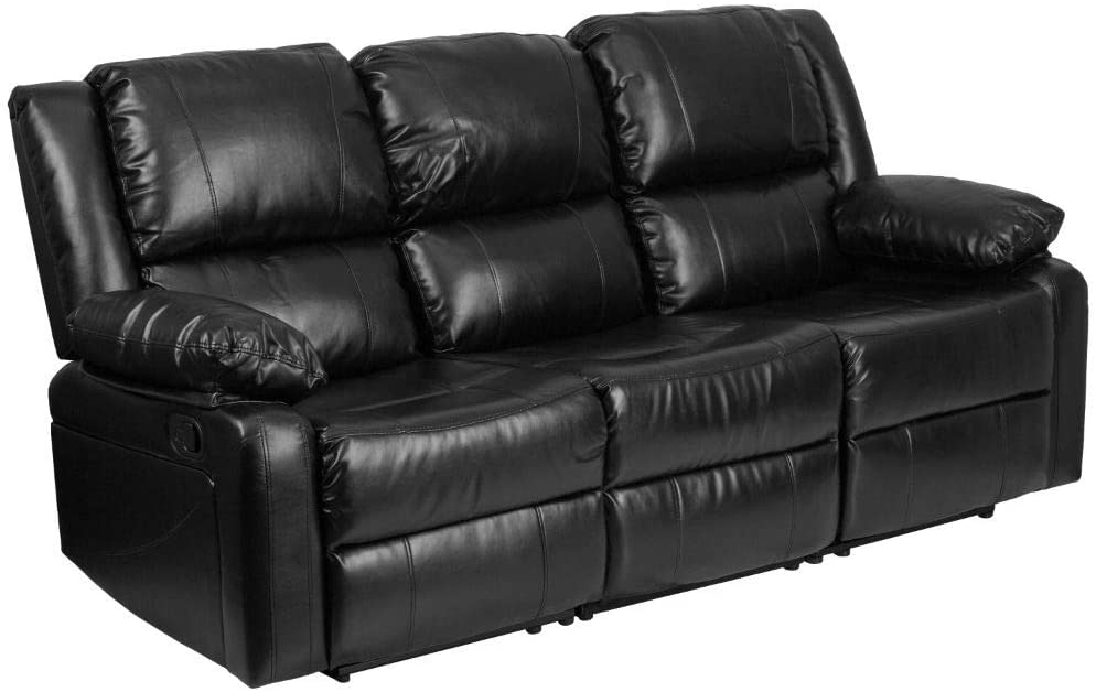 Flash Furniture Leather Recliner Sofa