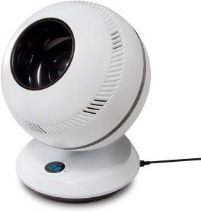 GreenTech Environmental PureFlow QT7 - Bladeless Quiet RC Oscillating Table Fan
