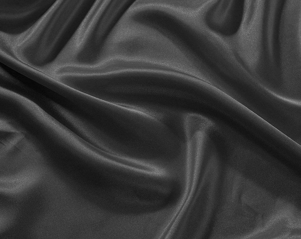 Linen Plus Satin Sheet Set Soft Silk