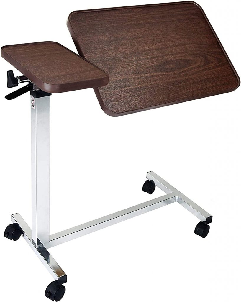 Medical Deluxe Tiltable Overbed