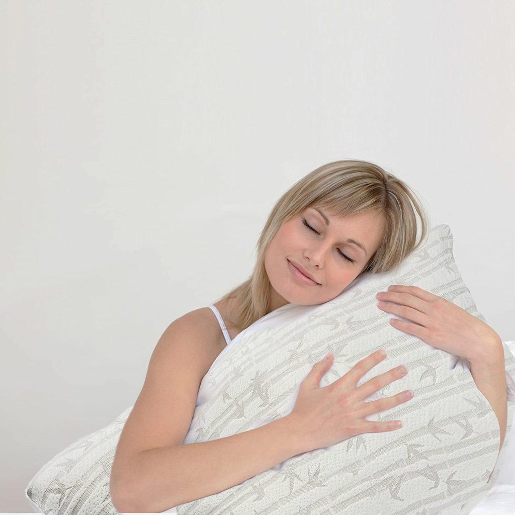 Memory Foam Queen Bamboo Pillow
