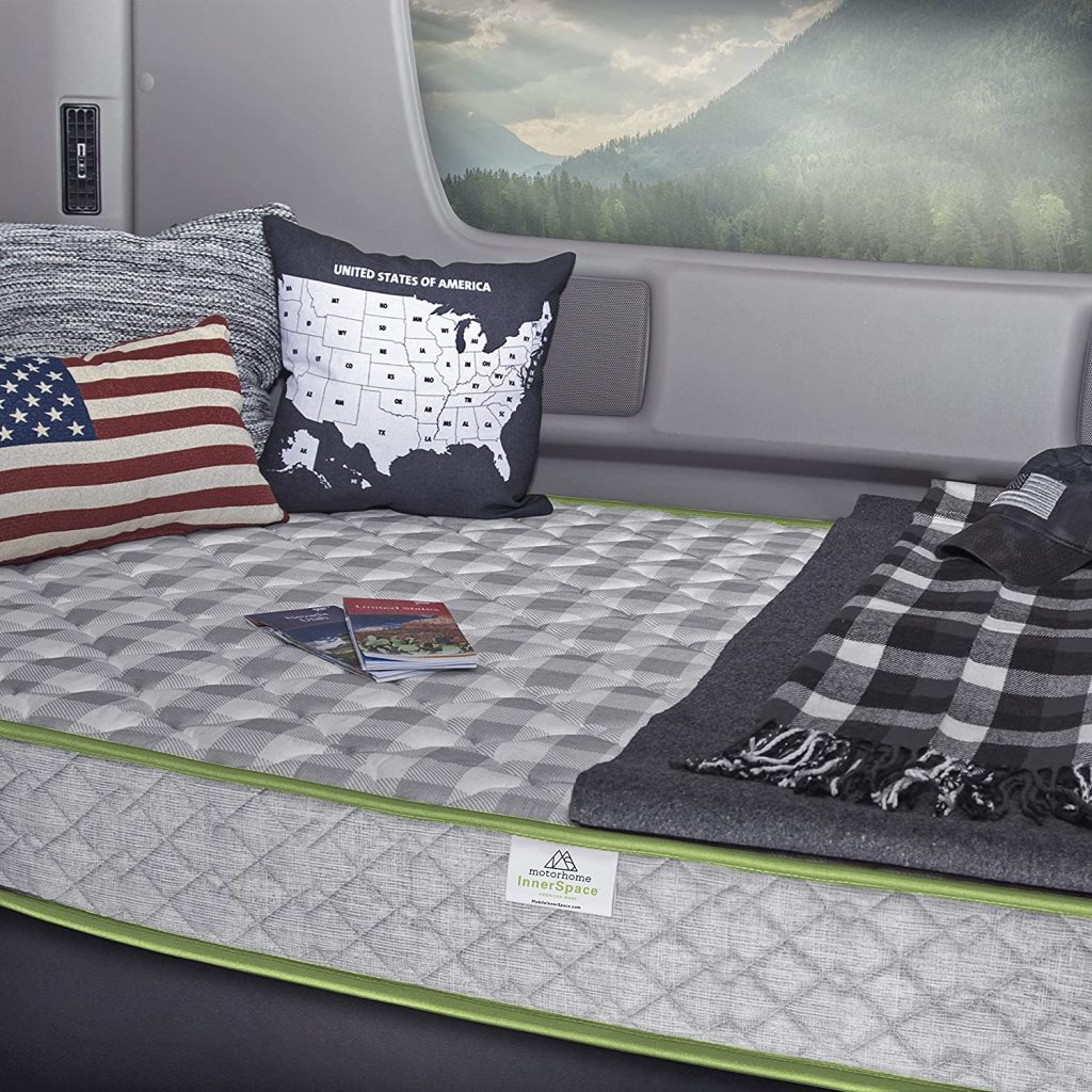 MotorHome InnerSpace Travel Comfort RV Mattress