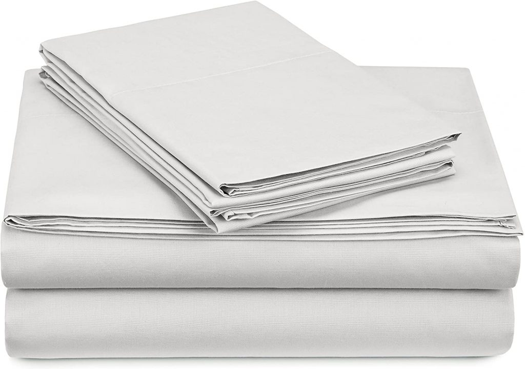 Pinzon 300 Thread Count Percale Cotton Sheet