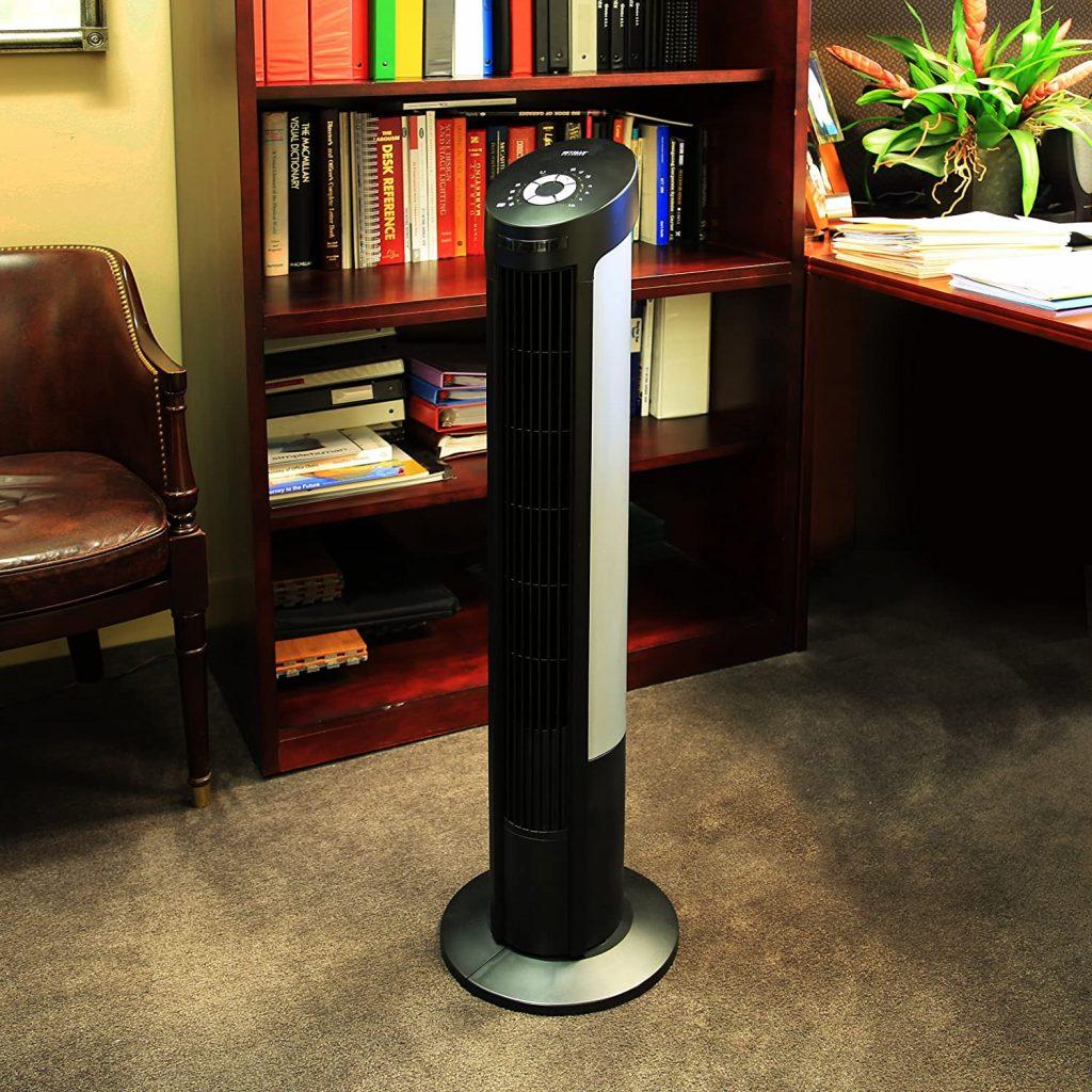 Seville Classics UltraSlimline Oscillating Tower Fan