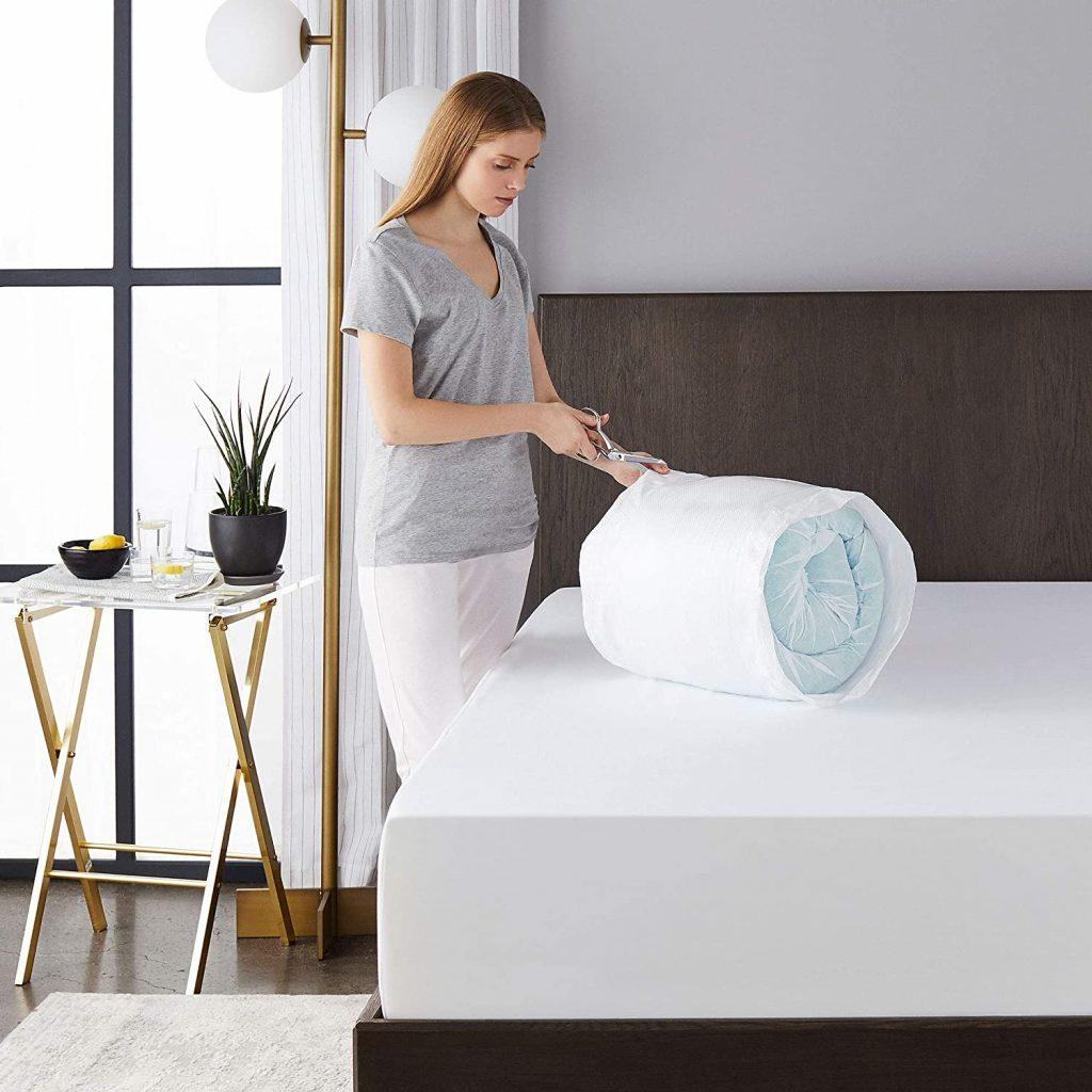 Sleep Memory Foam Mattress Topper