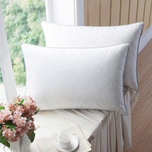 WENERSI Premium Goose Down Pillows with Feather Blended
