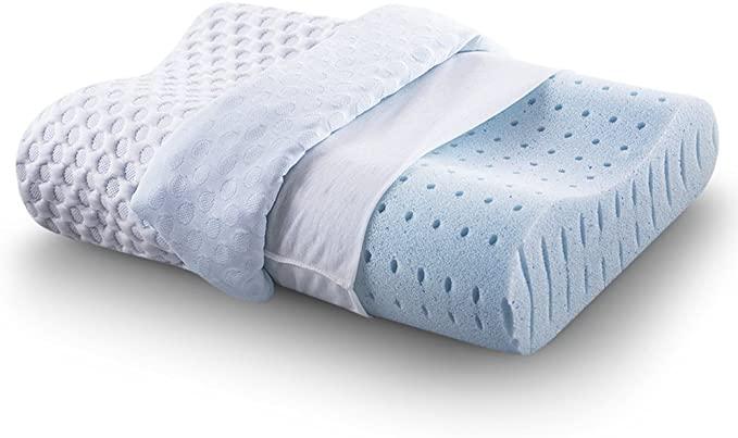 CR Comfort & Relax Ventilated Memory Foam Contour Pillow