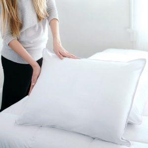 DOWNLITE Hypoallergenic Soft Down Pillow