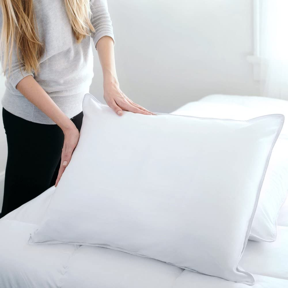 DOWNLITE Hypoallergenic Soft Down Pillow