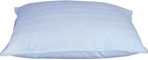 DOWNLITE Extra Soft Low Profile Down Pillow - Great for Stomach Sleepers Only - Very Flat