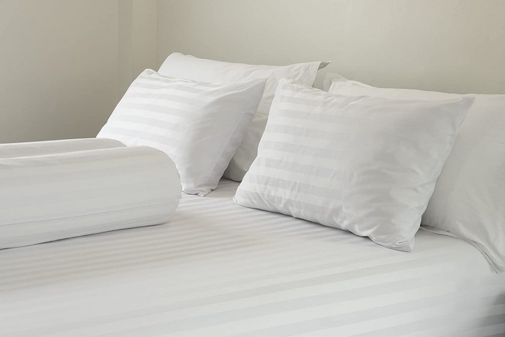 East Coast Bedding 2 Pack Luxury Goose Feather & Down Filled Pillows