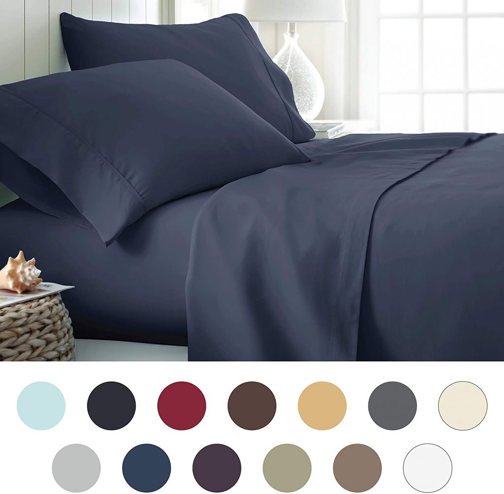 ienjoy Home Hotel Collection Luxury Bed Sheets