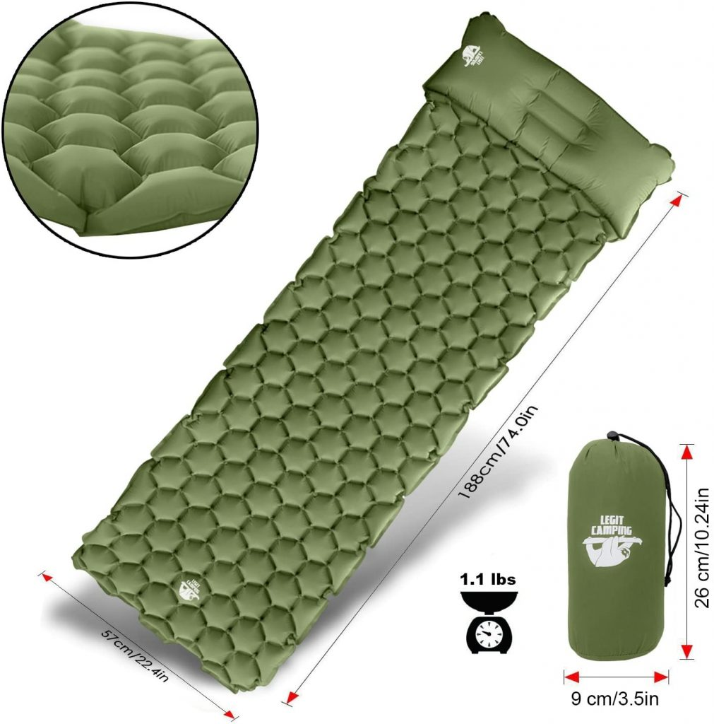 Legit Camping Sleeping Pad Camping Mat