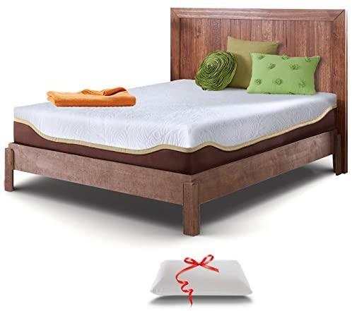 Live & Sleep Elite Mattress - Gel Memory Foam Mattresses - Twin XL Size