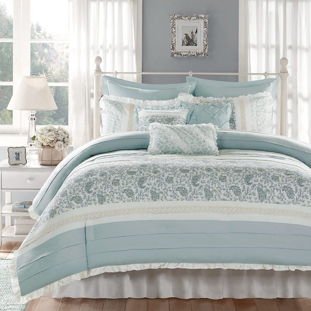 Madison Park Dawn 9 Piece Comforter Set