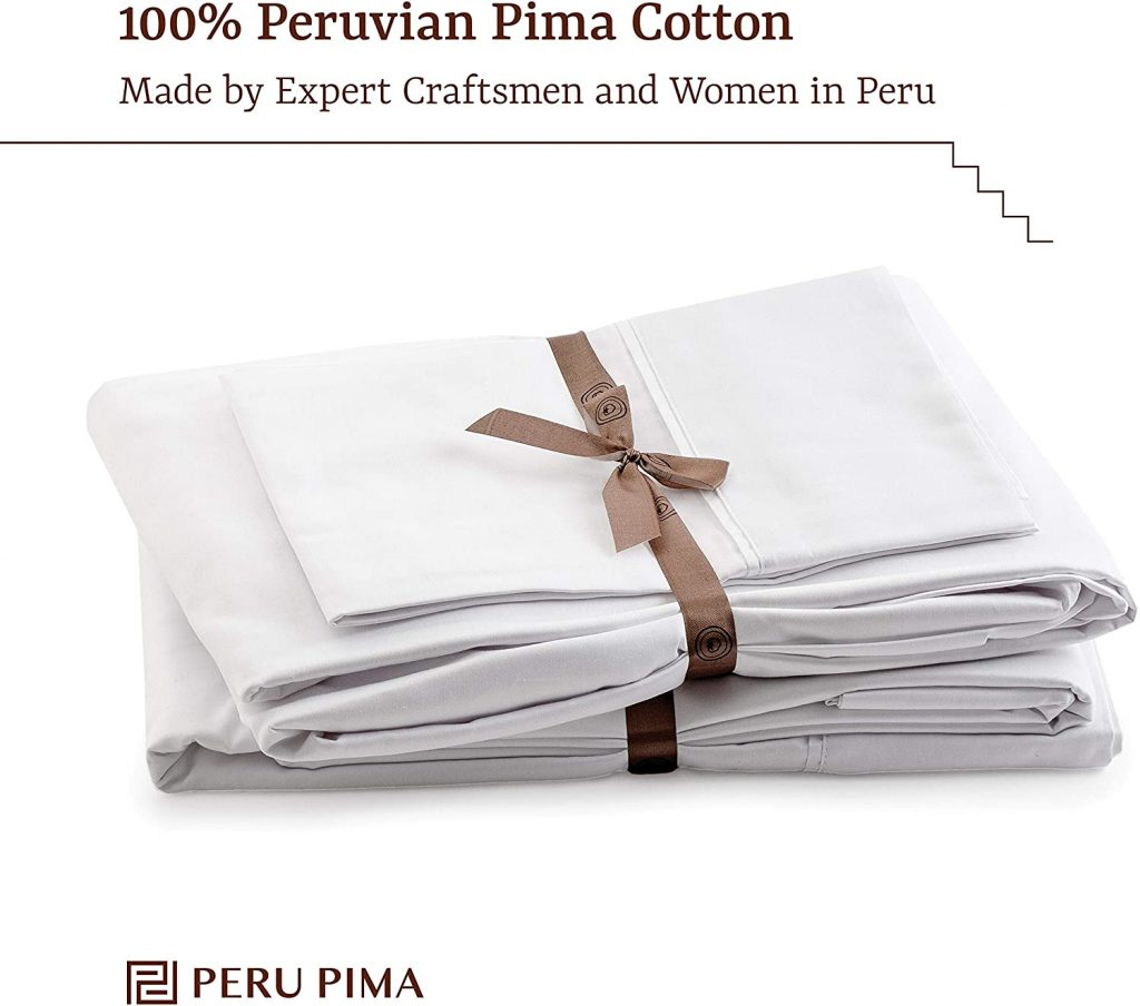 Peru Pima Percale sheet
