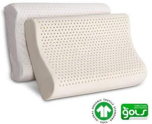 Organic Latex Contour Pillow for Neck Pain