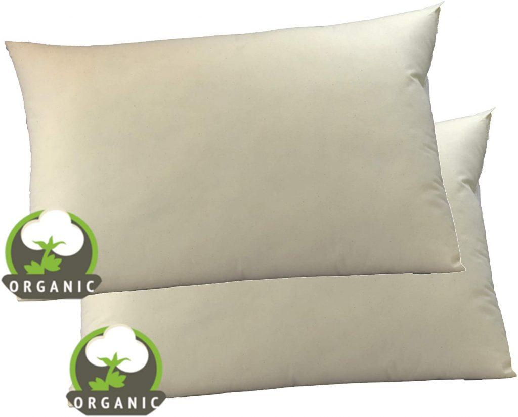MoonRest Organic Cotton Bed Pillow
