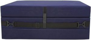 American Furniture Alliance Hide A' Mat 3.5 x 30 x 75 inch Jr Twin TriFold Mattress