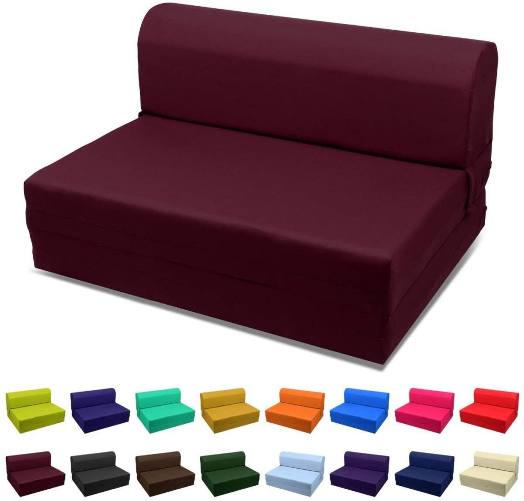 Magshion Futon Furniture Sleeper Chair Folding Foam Bed