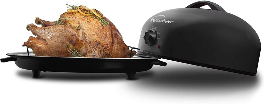 EaZy BrandZ EZO-3016B oberdome plus Countertop Electric Roaster Oven with domelok Heat Technology