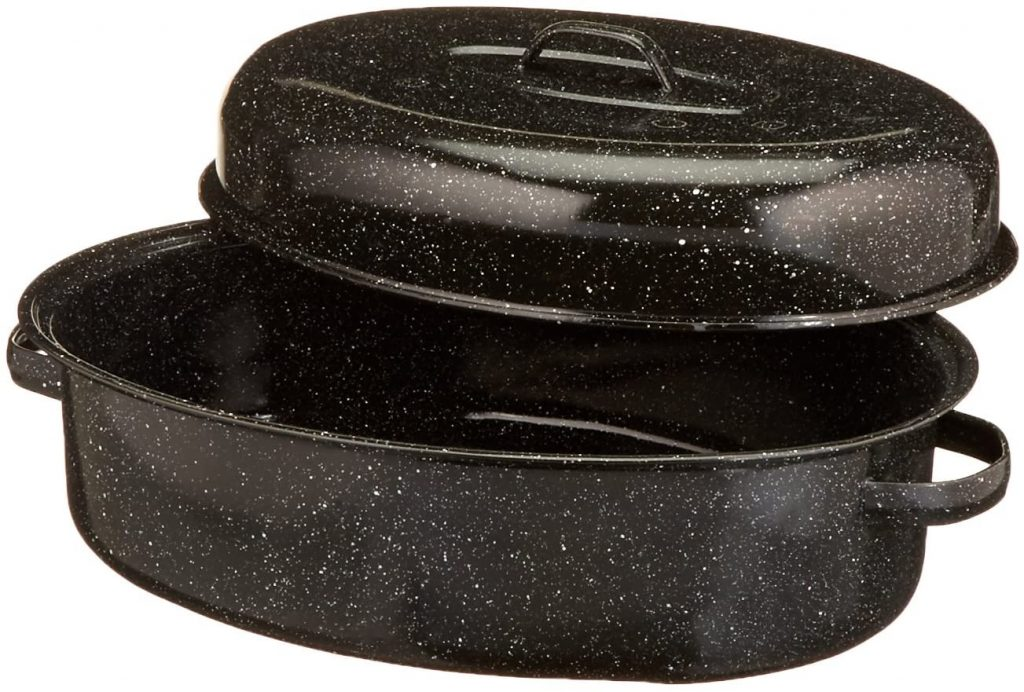 Granite Ware 18-Inch Covered Oval Roaster