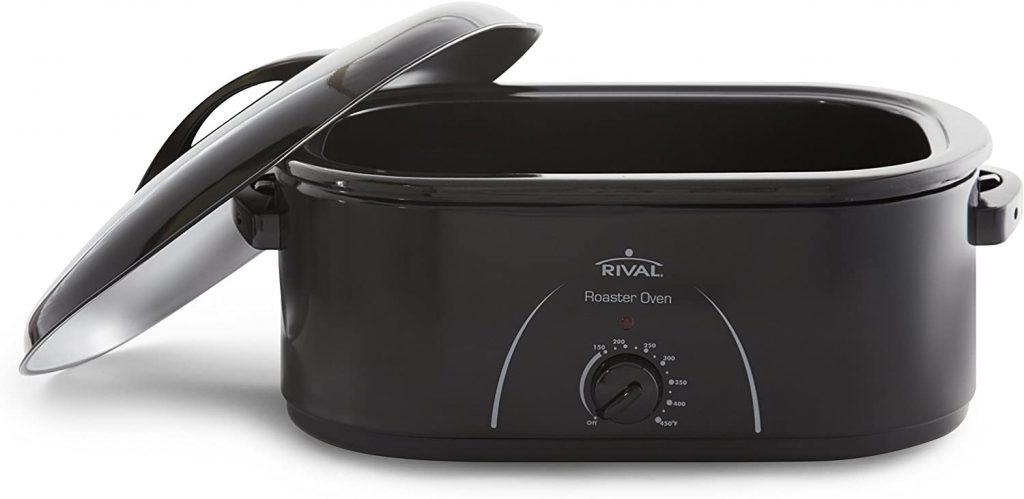 Rival Roaster Oven, 22 Quart, Black (RO230-B)