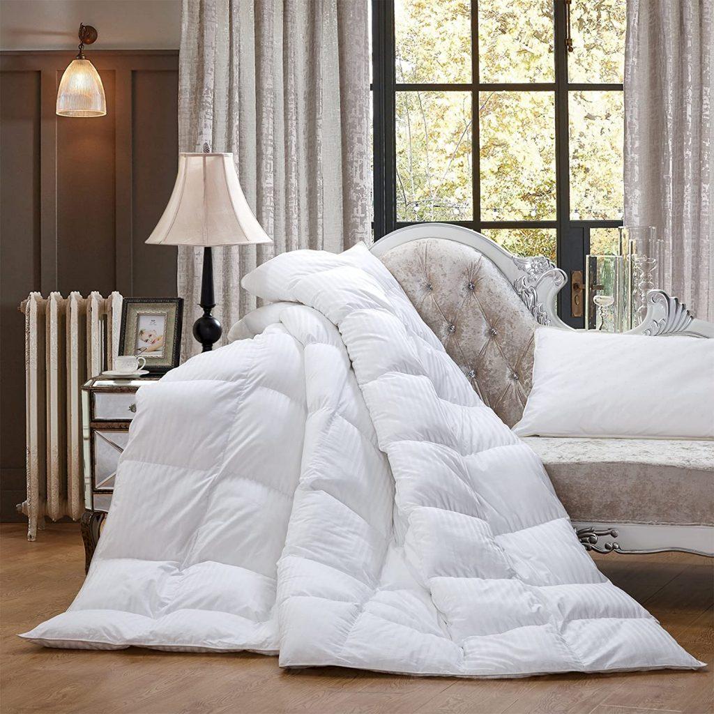 Luxurious Heavy Queen Down Comforter