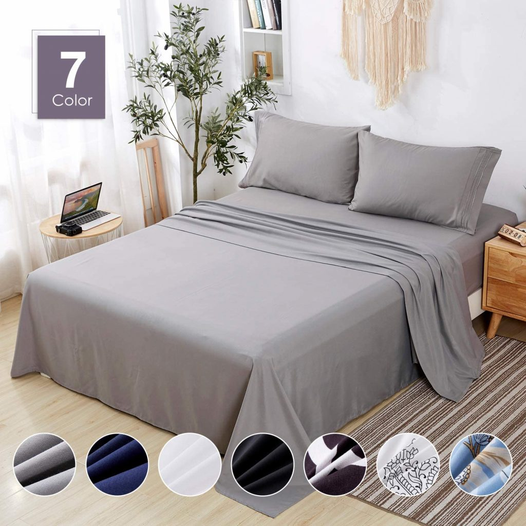 Agedate Brushed Microfiber Bedsheets