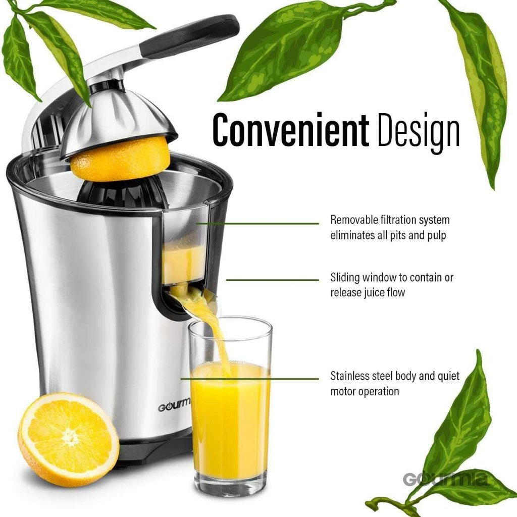 Gourmia Electric Citrus Juicer