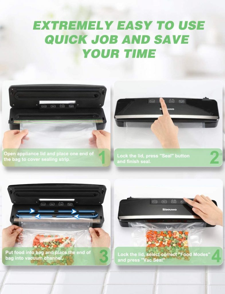 Slaouwo Vacuum Sealer