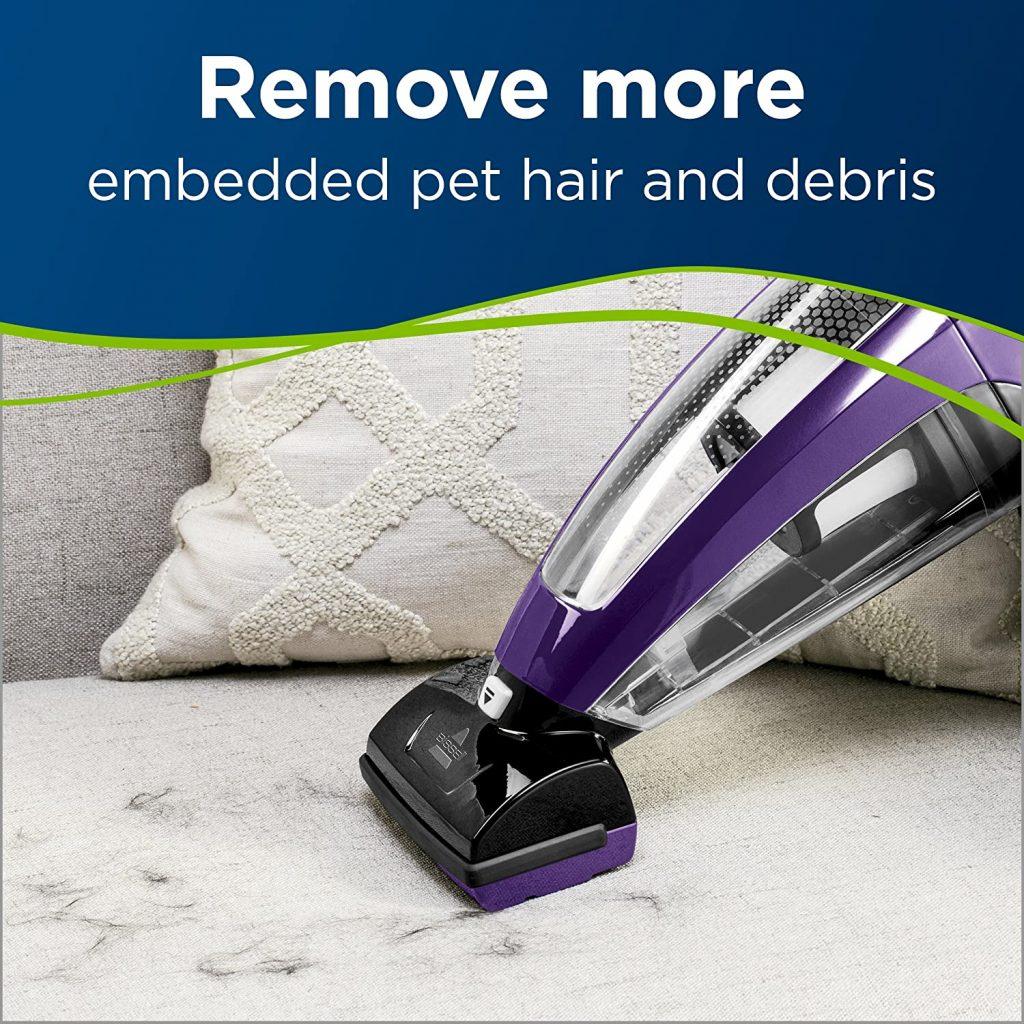 Pet Hair Eraser Lithium Ion Cordless Hand Vacuum