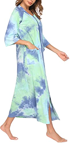 Ekouaer Women Nightgown Robe
