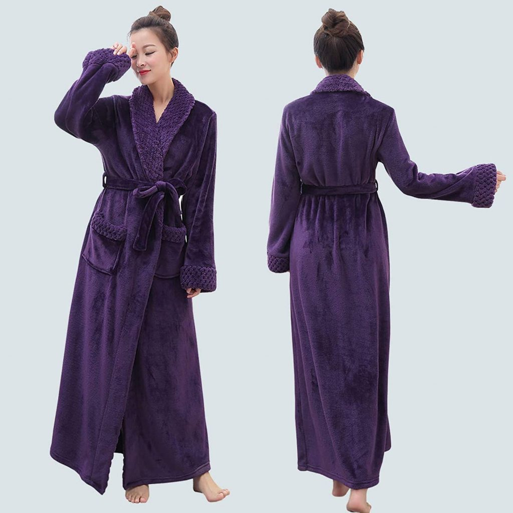 Long Bath Robe for Women