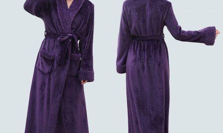 Long Bath Robe for Women