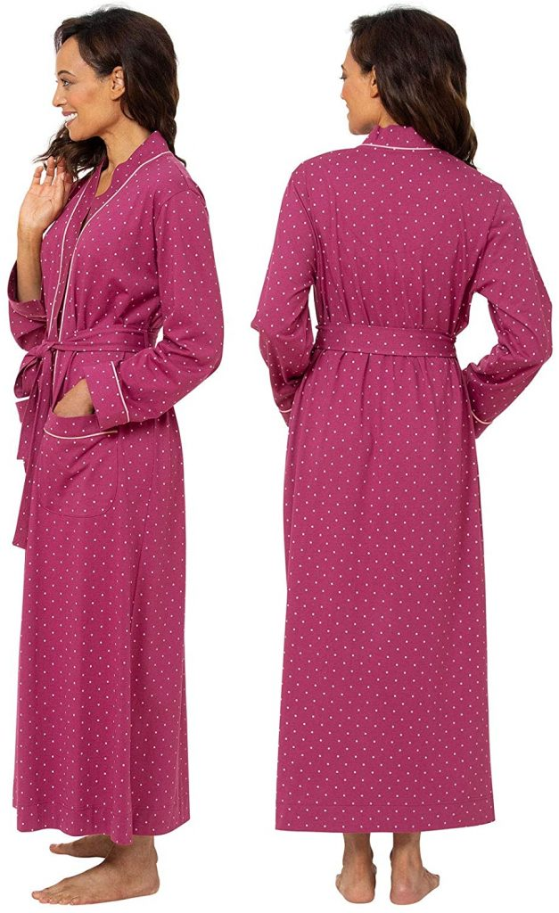 Long Women's Cotton Robes