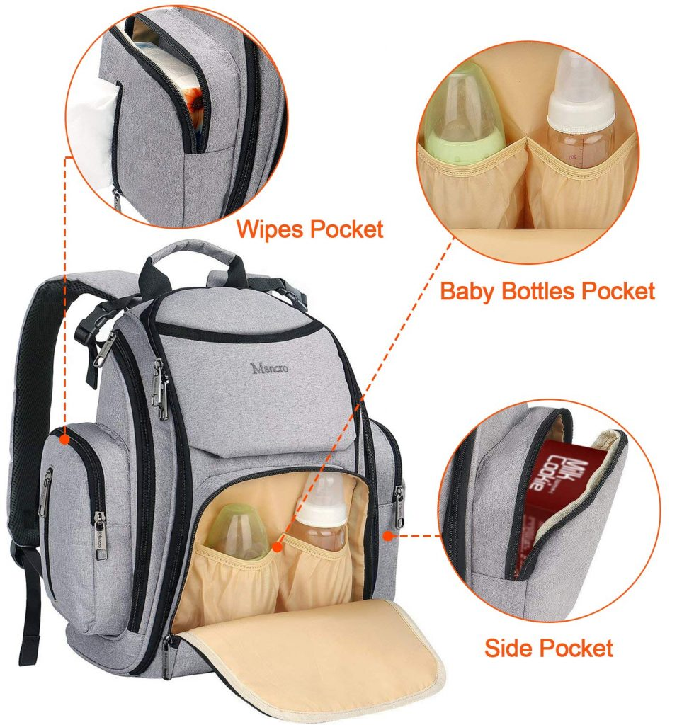 Mancro Diaper Bag