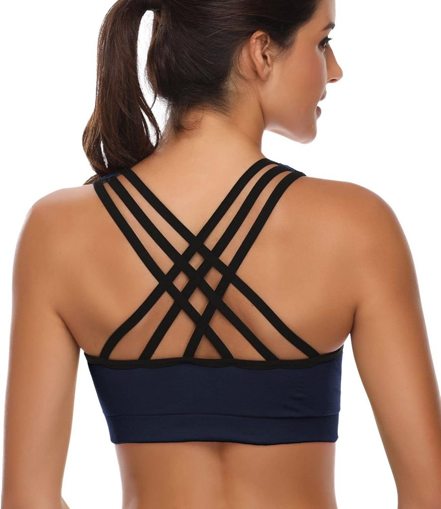 Padded Strappy Sports Bras